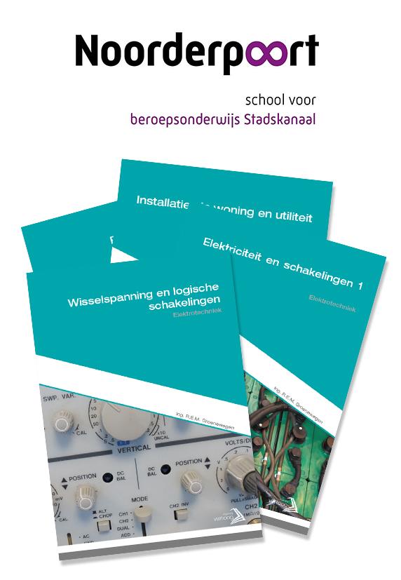 Boekenpakket Noorderpoort Elektrotechniek niveau 3 leerjaar 3