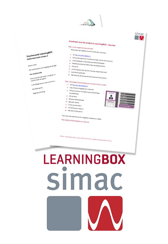 Voucher Learningbox Elektrotechniek N3 leerjaar 1 cohort 2020