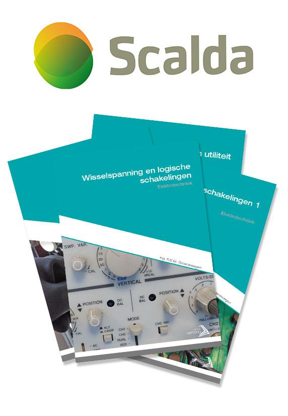 Boekenpakket SCALDA Elektrotechniek N3 leerjaar 3