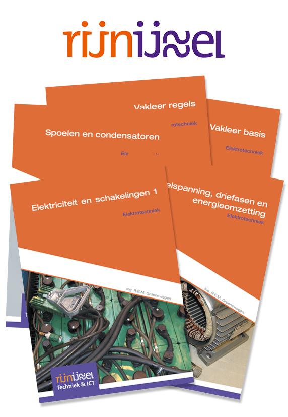 ROC Rijn IJssel - Boekenpakket compleet Elektrotechniek N3 BBL en BOL