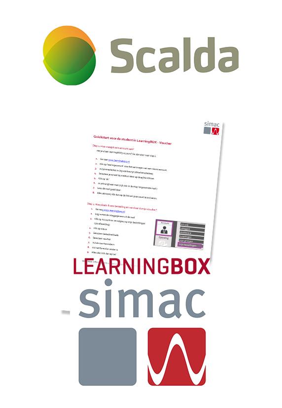 Voucher LearningBOX SCALDA Elektrotechniek N3 - leerjaar 2 en 3